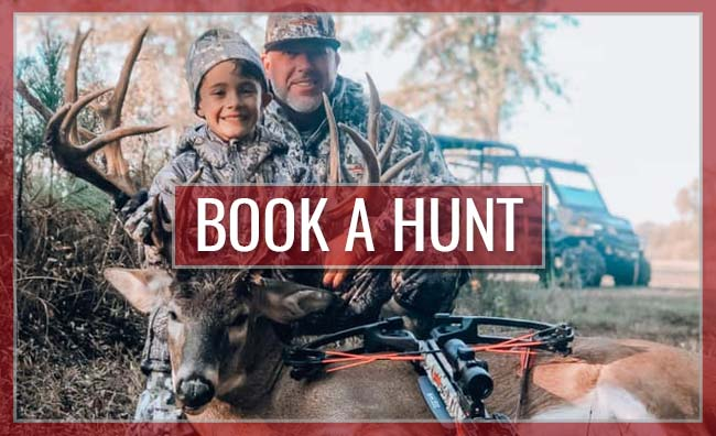 Book a Hunt with Legacy Whitetail Preserve